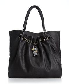 Buffalo Handbag, Soho Tote in Black