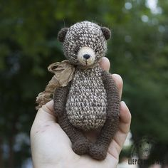 Mesmerizing Crochet an Amigurumi Rabbit Ideas. Lovely Crochet an Amigurumi Rabbit Ideas. Crochet Teddy, Crochet Bear, Crochet Patterns Amigurumi, Crochet Gifts, Cute Crochet, Amigurumi Doll, Crochet Animals, Crochet Dolls, Crochet For Kids