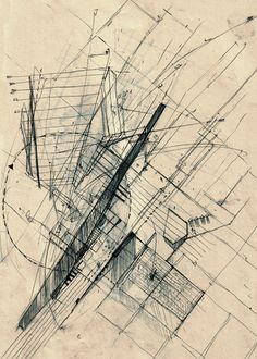 moleskin  architecture Sketch Alex Kaiser