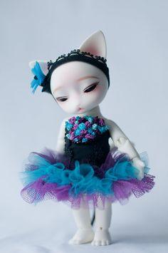 #BJD #doll #Pipos #corset #cat