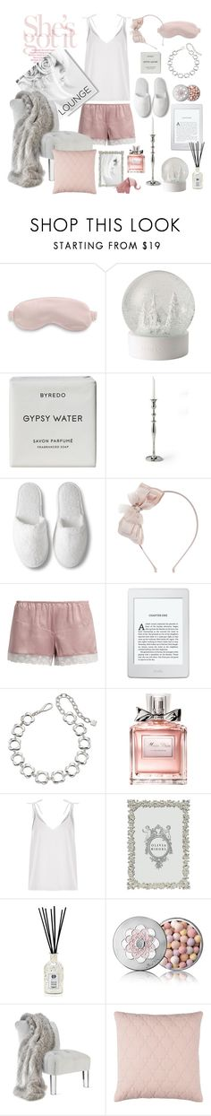 """Come to Me"" by ms-wednesday-addams ❤ liked on Polyvore featuring Slip, Wedgwood, Byredo, Frontgate, MORPHO + LUNA, Amazon, Orla Kiely, Christian Dior, River Island and Antica Farmacista"