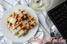 @prettygirltips Cinnabon Waffles