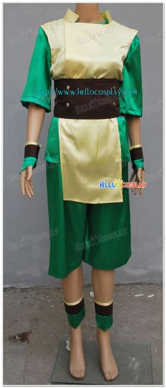 Toph Bei Fong Cosplay Costumes From Avatar The Last Airbender