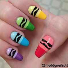 Coffin Nail Art Ideas: With coffin nail art trending, it is reasonable to find out some of the most aesthetic ideas to create similar versions. They have been sported by Celebrities like Kylie Jenner, Khloe Kardashian, and entrepreneur Heather Sanders. Nail Design Stiletto, Nail Design Glitter, Stiletto Nails, Cute Acrylic Nails, Cute Nails, My Nails, Disney Acrylic Nails, Kylie Nails, Nail Art Diy