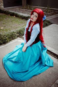 Ariel - The little Mermaid Cosplay by thecrystalshoe.deviantart.com on @deviantART