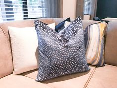 A pillow with a perfect dimple? When it comes to staging, it's the little things. 😜 Do your couch pillows have dimples? Couch Pillows, Throw Pillows, Staging Furniture, Dimples, Interiors, Beautiful, Home, Cushions, Decorative Pillows