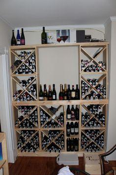 wine storage idea.