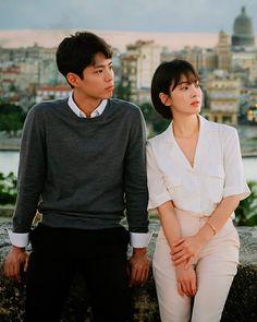 Just incase I'll get a boyfriend soon lol Song Hye Kyo, Drama Korea, Korean Drama, Short Hair Outfits, Park Bogum, Kdrama, Korean Short Hair, Minimalist Fashion Women, Workwear Fashion