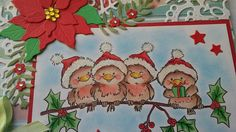 Wild Rose Studio: Rockin' Robins on a branch...