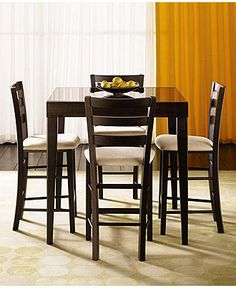 Café Latte Dining Room Furniture Collection, Counter Height