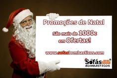"""Aproveite já as nossas OFERTAS de Natal.  www.sofasbombasticos.com """"Neste Natal, não espere pelo Pai Natal"""""""