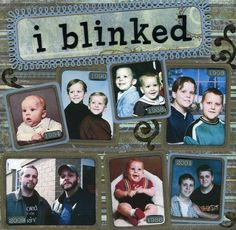 GATHER PICS AND DO A VERY SIMPLE LAYOUT AND ADD JOURNALING BLOCK FOR JEFF AND JUDY TO FILL OUT*2