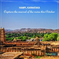 Hampi was the capital of Vijayanagar Empire in 13th century with magnificient temples and architectural wonders.   The city is in ruins now, but it serves as one of the most interesting places in India to hangout...