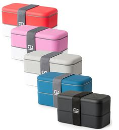 Oui oui, mmm le monbento! Winner of the Red Dot Design Award, the monbento™ MB Original Bento Box is one of the most attractive bento boxes on the market; you'll have no problem remembering to bring this chic, waste-free lunchbox with you every day.
