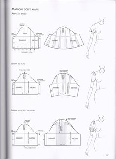 Altering a sleeve pattern to a flutter sleeve Pattern Cutting, Pattern Making, Dress Sewing Patterns, Clothing Patterns, Pattern Drafting Tutorials, Pola Lengan, Sewing Sleeves, Modelista, Fabric Manipulation
