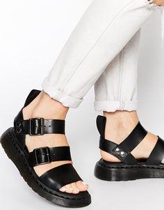 2b3529b34af Dr Martens Shore Gladiator Reinvented Gryphon Strap Sandals at asos.com