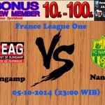 Prediksi Pertandingan Guingamp Melawan Nantes 5 Oktober 2014 France League One
