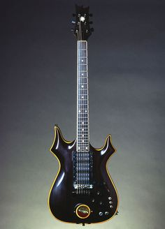 "Jerry's ""Lightning Bolt"", was built by a fan based on ""Rosebud"", immediately became his favorite and main axe for many years"