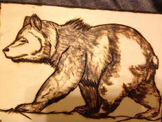 wooden bear patterns