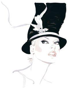 David Downton Fashion Illustration | MONOmoda
