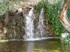 Cascada en parque. www.elhogarnatural.com