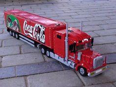 Coca Cola Truck: A LEGO® creation by Lasse Deleuran : MOCpages.com