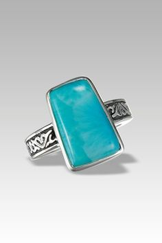 Larimarket - MarahLago Hanna Collection Larimar Ring, $186.00 (http://www.larimarket.com/marahlago-hanna-collection-larimar-ring/)