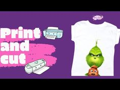 Custom Print T-Shirts/ How to print and cut/ Cricut Maker - YouTube Find Us On Facebook, Print And Cut, Cricut Craft, T Shirt, Crafts, Space, Youtube, Design, Supreme T Shirt