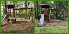 Refurbish: sand, stain, seal, tune-up Wood Playground, Relocation Services, Seal, Outdoor Structures, Harbor Seal