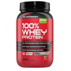 GNC Pro Performance® 100% Whey Protein in Natural Vanilla is sweetened with stevia and free of artificial flavors and coloring!
