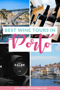 What's the number one thing to do in Portugal? Try Port, of course! Porto is home to dozens of port wine cellars, so how do you choose which ones to check out?! Check out this review of some great tour options! #portugal #portwine #porto #europe