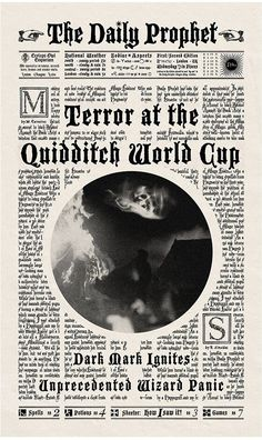Harry Potter grafisk design typografi illustration filmrekvisitter minalima