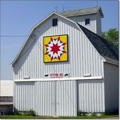 Painted Quilt Blocks On Barns