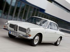 I have dreams where I'm a gangster from the 60s & 70s. This is the car I'm driving in them. 1965 BMW 3200 CS Bertone Coupe
