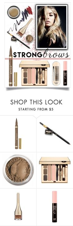 """eyebrows speak louder than words ;)"" by collagette ❤ liked on Polyvore featuring beauty, Stila, Christian Louboutin, Bare Escentuals, Clarins, Forever 21, Giorgio Armani, topbeauty and beautyinsidegorgeousoutside"