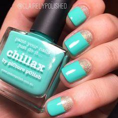 GREEN & GOLD features 'Chillax + Pharaoh' nails by @clairelypolished ❤️ thx Claire :) ⭐️That Remover + Those Wipes + MoYou London + Liquid Palisade + NailVinyls + Nail Butter + Creative Shop BIG Stamper all available via PP link in bio⭐️ #aussienails #picturepolish #polish #lovemanicure #nail #nails #nailpolish #polishaddict #vernis #lacquer #lovenails #enamel #npa #nailart #nailporn #nailswag #nailaddict #nailartwow #naildesign #nailenamel #manicure #nailfashion #indiepolish #naillacquer…