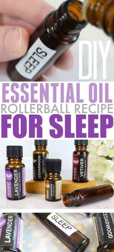 Essential oils can be really helpful if you're having trouble falling to sleep. Try this easy rollerball recipe for sleep the next time you find that counting sheep isn't working for you!