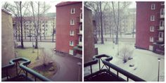 Spring in Helsink with unpredictable weather