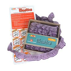 Elastics - Purple (www.notinshops.com.au) $14.95