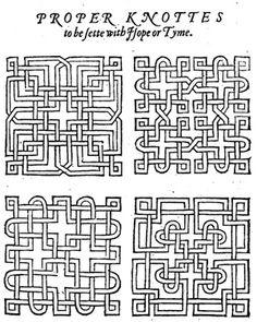 1000 images about tudor on pinterest tudor house knots for Tudor knot garden designs