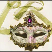 "Beautiful Masquerade Mask  ""Orchid"