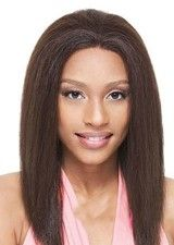 Beautiful Yaki Straight Human Hair Full Lace Wig