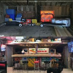 Cool off with a cold one with the top 50 best garage bar ideas. Explore manly cantina plus workshop designs for relaxing between projects.