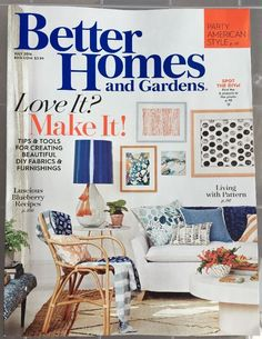 New BETTER HOMES AND GARDENS Magazine