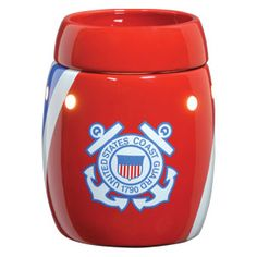 Coast Guard FULL_SIZE scentsy warmer, .... Like this purchase today and like my facebook fan page:    https://www.facebook.com/media/set/?set=a.10150364570080344.604384.555635343&type=3#!/pages/Ashley-Nichols-Independent-Scentsy-Consultant/297557330292599