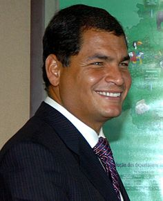 Rafael Vicente Correa Delgado, is the President of the Republic of Ecuador and the former president pro tempore of the Union of South American Nations. Spanish Speaking Countries, Choose Life, Galapagos Islands, Former President, How To Speak Spanish, Quito, The Republic, Celebrity