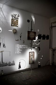 Lichtinstallation zur Erklärung wie Teile miteinander in Zusammenhang stehen  3 | A Magical Installation Combines Rube Goldberg With Shadow Puppets | Co.Design | business + design