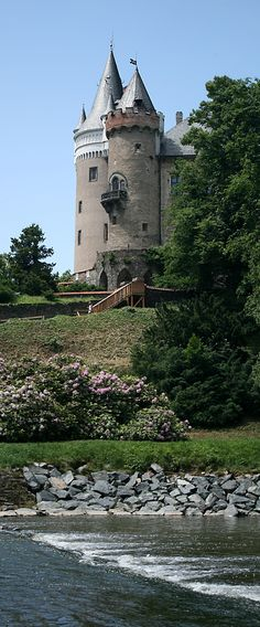 Žleby castle (Central Bohemia), Czechia