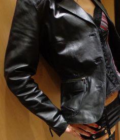 petite veste en cuir