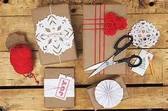 Image result for kraft paper wrapped gifts